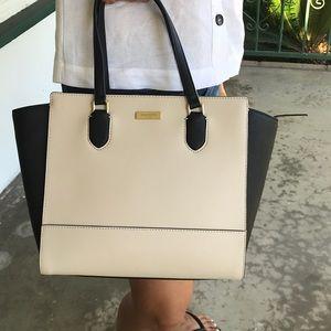 NWT | Kate Spade ♠️ Black & cream handbag